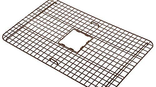 Sinkology Sg001 33 Wright Copper Kitchen Sink Bottom Grid