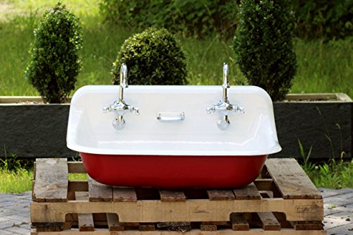 36 Antique Inspired Kohler Farm Sink Incarnadine Red Cast