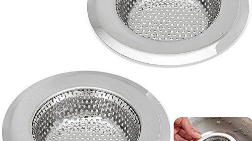 Kitchen Sink Strainer – 4.5 Inch Dia – Set of 2 Sink Strainers ...