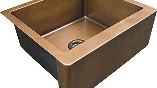 Barclay FSCSB3098 SAC Austin Single Bowl Copper Farmer Sink
