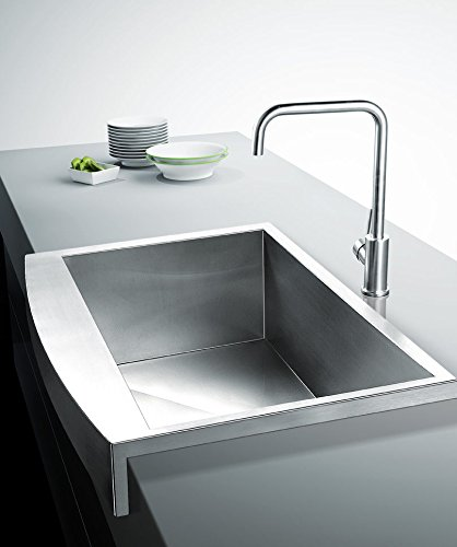 32 Farmhouse Apron Stainless Steel Sink 16 Gauge Handmade