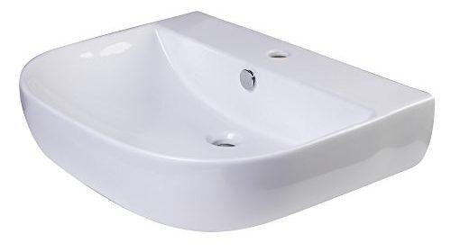 alfi brand ab111 d bowl porcelain wall mounted bath sink 24 white farmhouse sink store. Black Bedroom Furniture Sets. Home Design Ideas